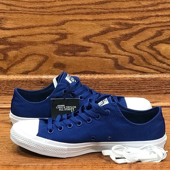 Converse CT II Ox Sodalite Blue Shoes 98020de38